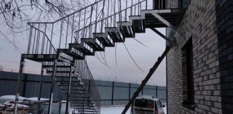Каркасная лестница